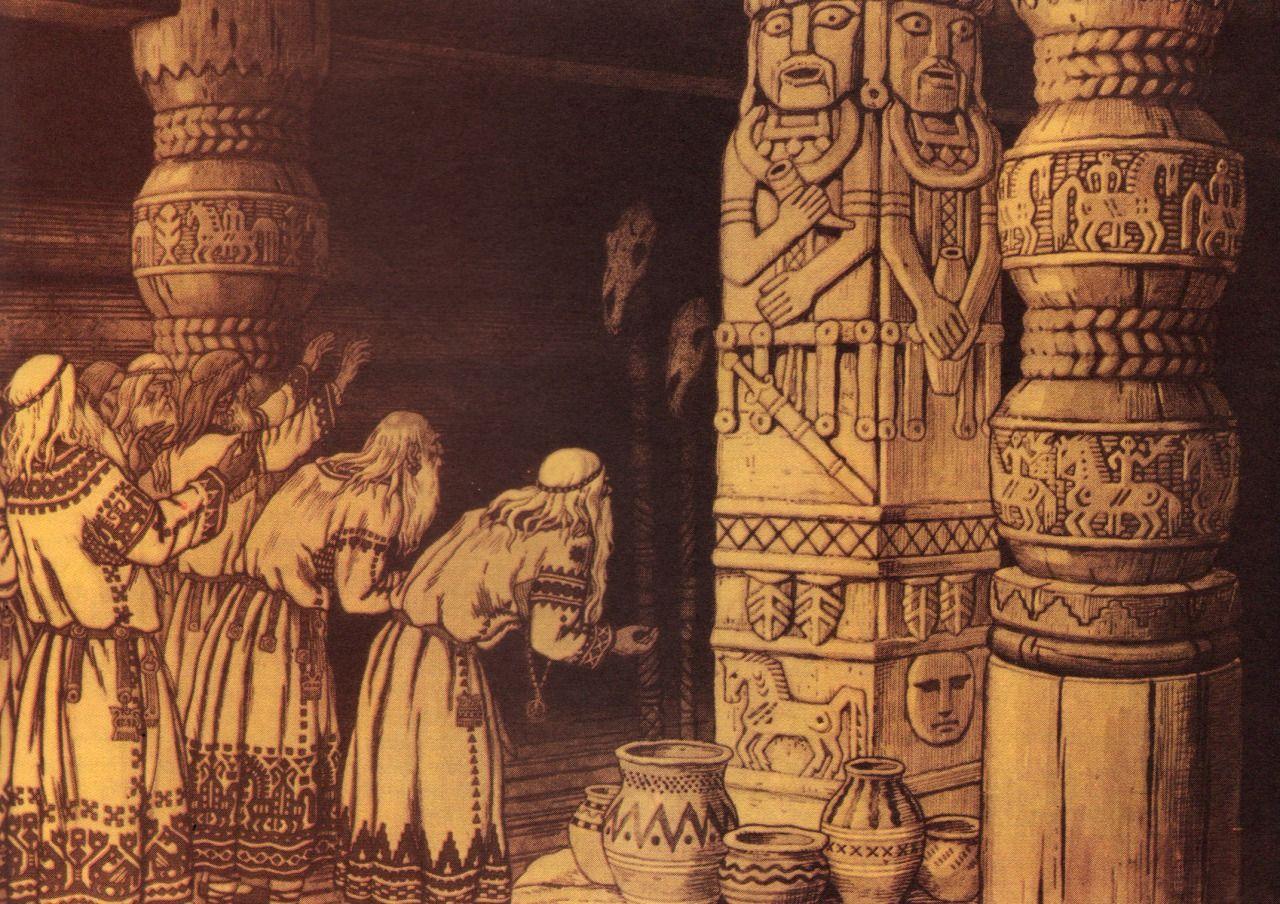 языческая религия картинки приснилось, что