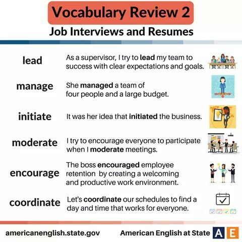 Pin by HSBC on English words and definitions Pinterest English - language on resume
