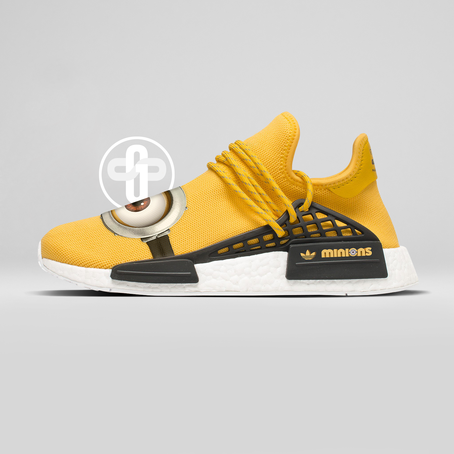 best sneakers cc15f ad2e9 Pharrell Williams x Les Minions x Adidas Hu NMD