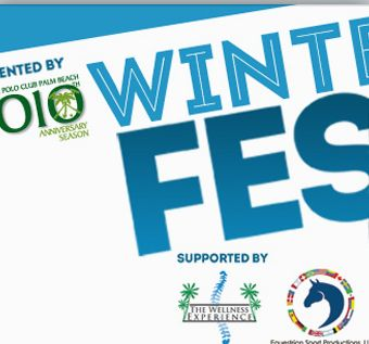 WinterFest 2012 vent in Wellington, Florida