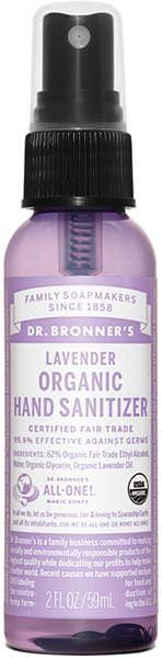 Dr Bronner S Organic Lavender Hand Sanitizer Hand Sanitizer