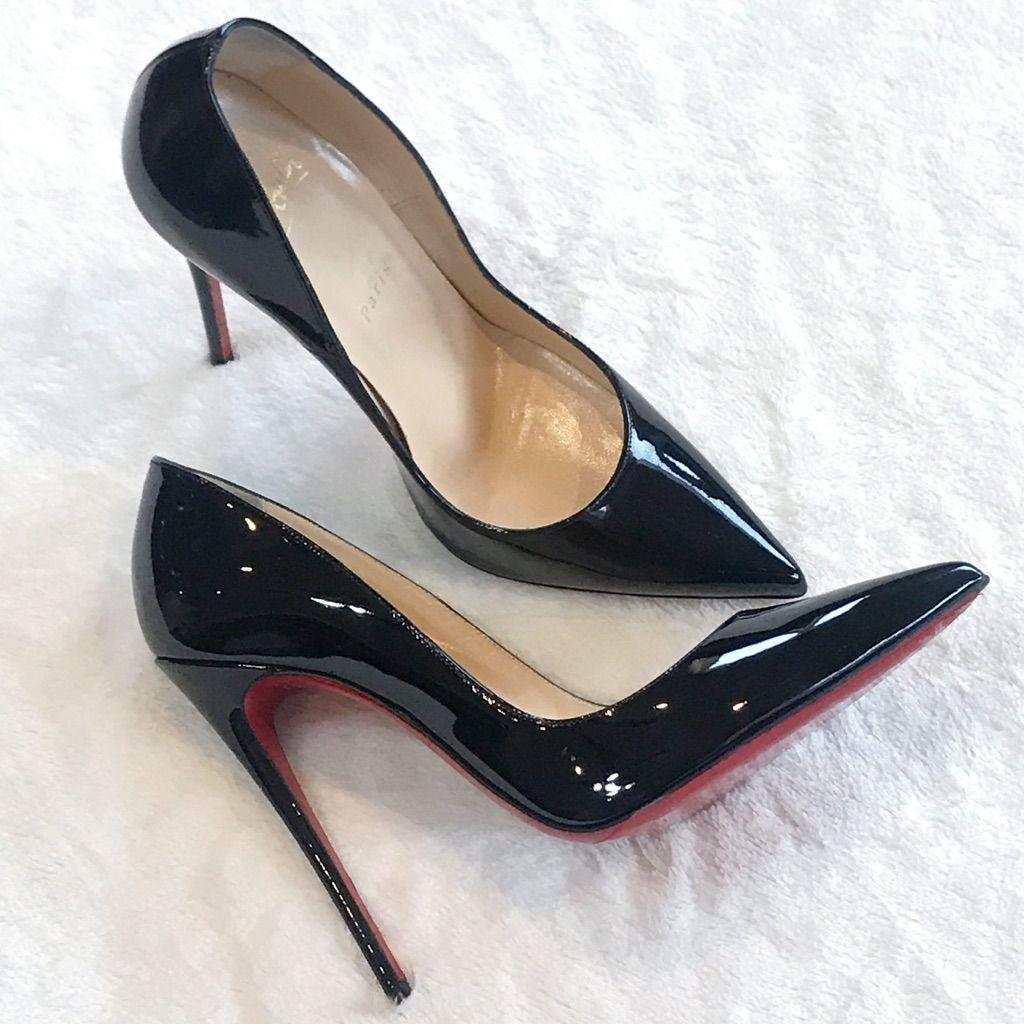 the best attitude 8f7ed 0578c Christian Louboutin Shoes | Christian Louboutin Black Patent ...