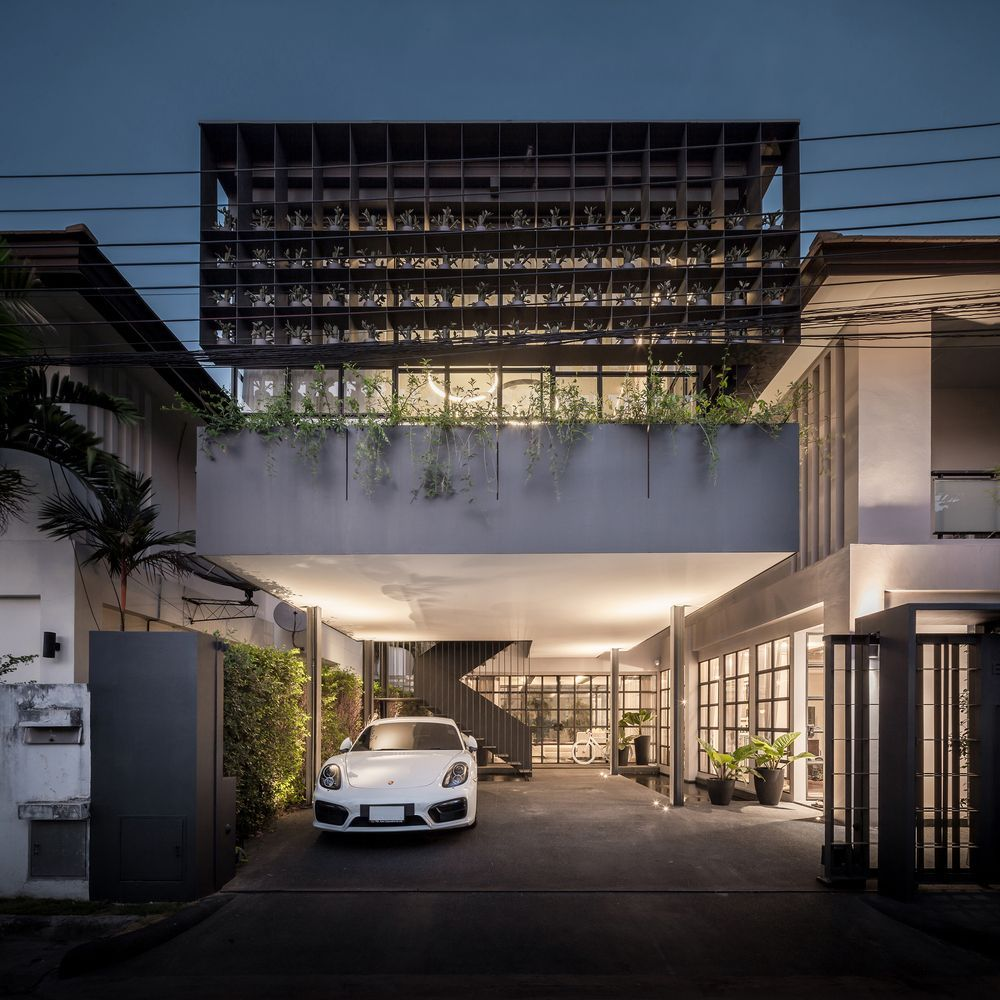 Gallery of flower cage house anonym also residential pinterest rh