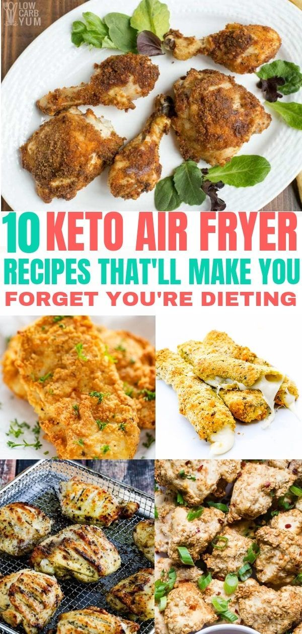 10 Keto Air Fryer Recipes to Keep Your Diet Interesting images