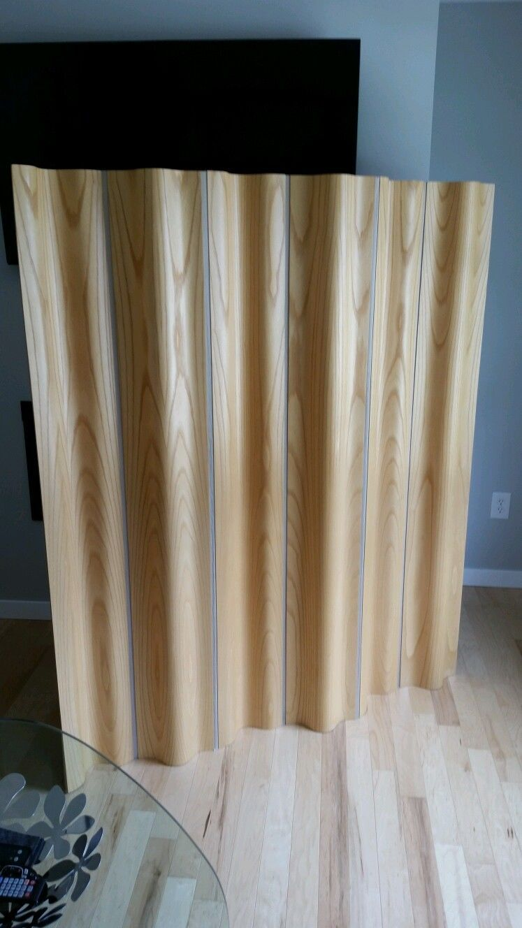 Charles Ray Eames Moulded Plywood Screen By Herman Miller Room Divider Knoll Picclick