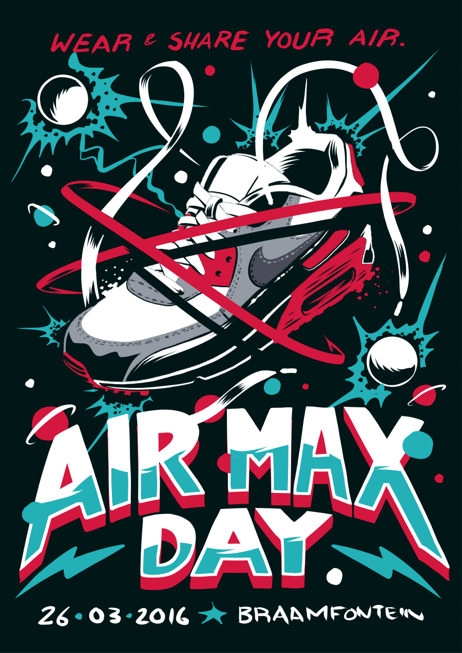 Nike Air Max Day Poster On Behance Inspirations Pinterest
