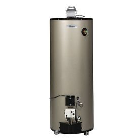 Shop Whirlpool 40 Gallon 12 Year Tall Gas Water Heater Natural Gas At Lowes Com Gas Water Heater Natural Gas Water Heater Water Heater