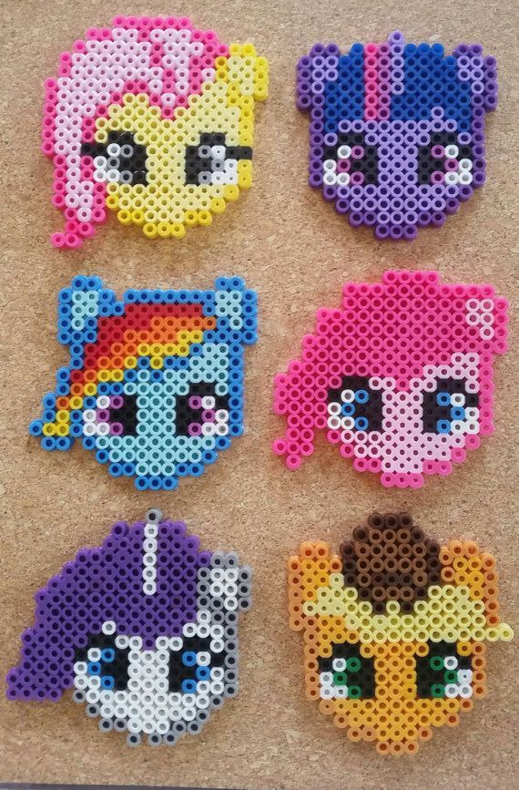 These My Little Pony characters are such a cute pieces and a perfect stocking st...