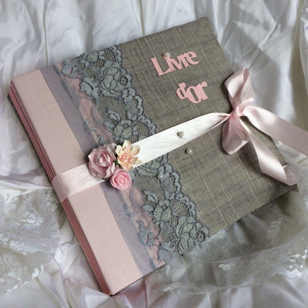 livre d 39 or mariage so romantic gris et rose mariage en 2019 livre d 39 or mariage gris
