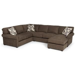 Superb Stanton 225 Transitional 2 Piece Sectional Sofa With Chaise Ibusinesslaw Wood Chair Design Ideas Ibusinesslaworg