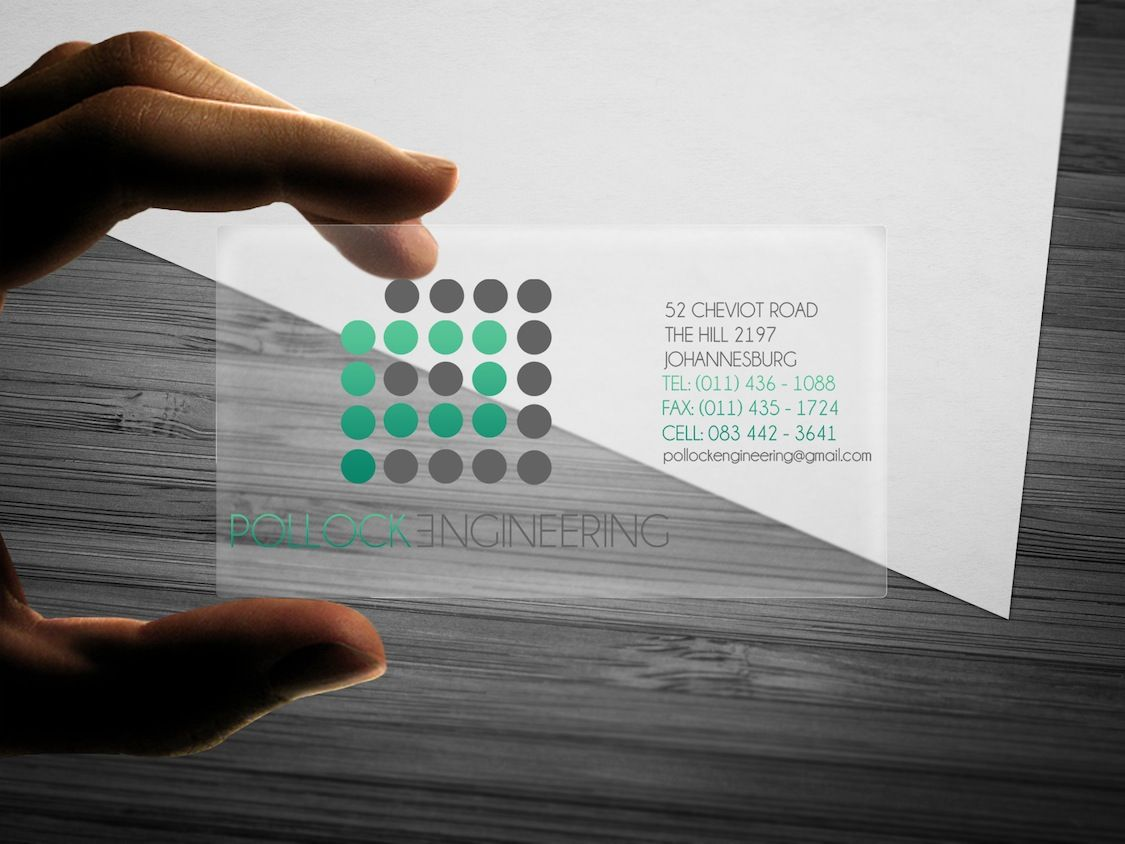Pollock Engineering Business Card Design | Business Cards ...