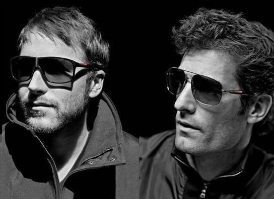 31c4b854981 Prada launches Linea Rossa eyewear campaign with top sportsmen   Mark  Webber ( Formula 1 )