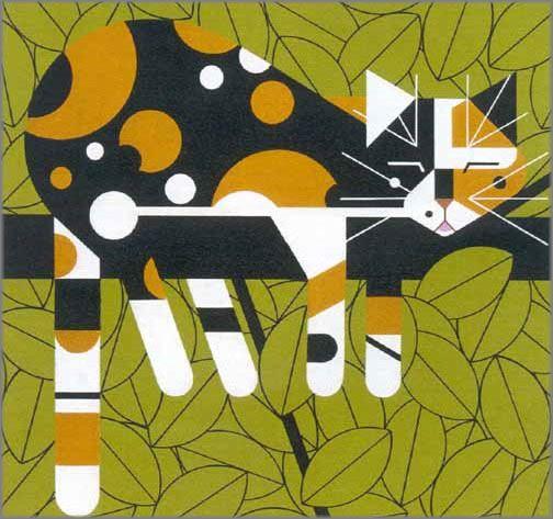 Charley Harper - Limp on a Limb