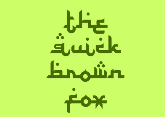 Font Mirip Teks Arab Free Download Latin Similar Arabic Huruf Lukisan Galaksi Tulisan