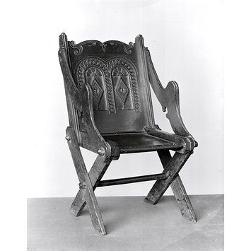 Glastonbury Armchair Unknown V A Explore The Collections Armchair Chair Antiques