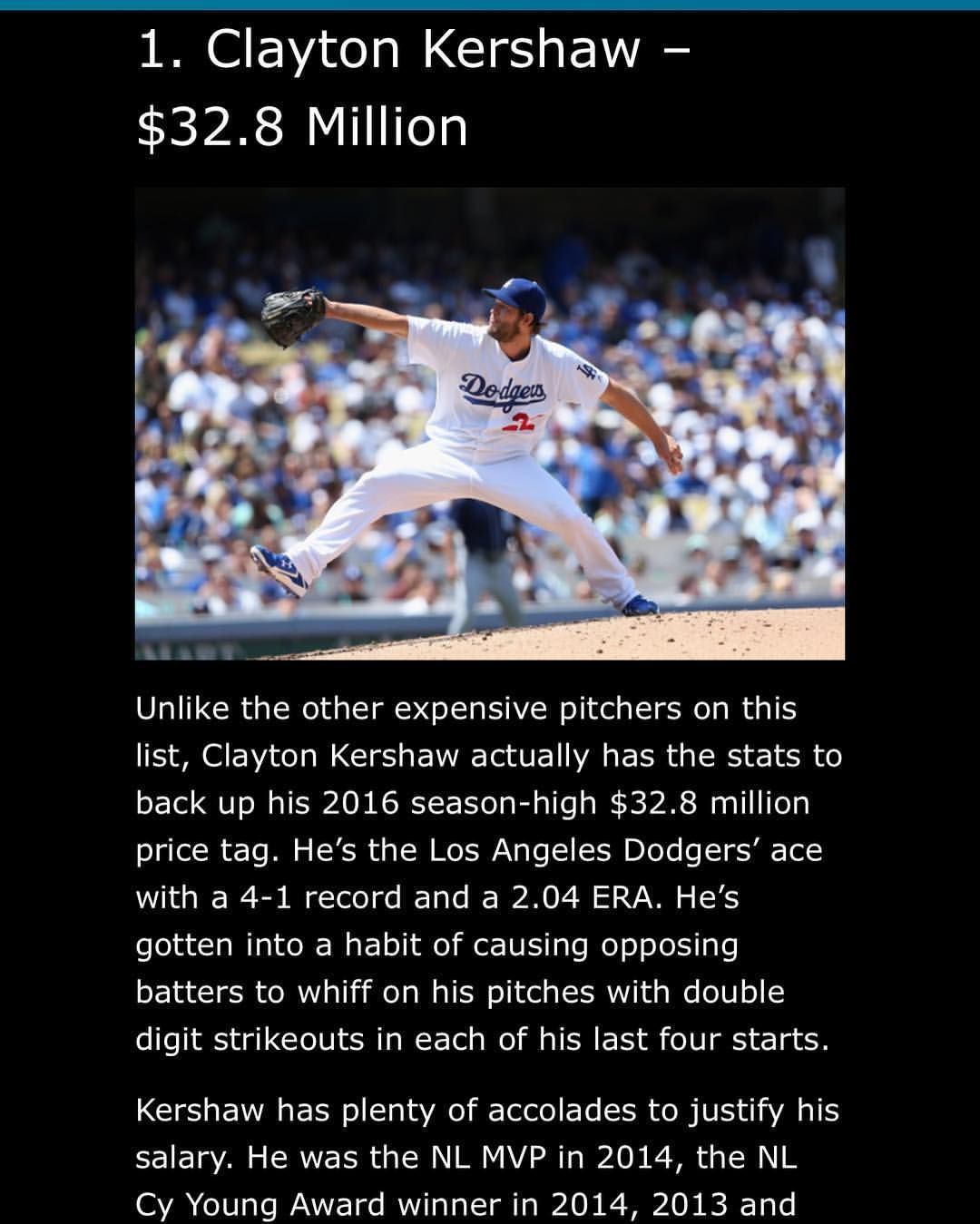 Meet the ten highest paid baseball ⚾️ players in Major