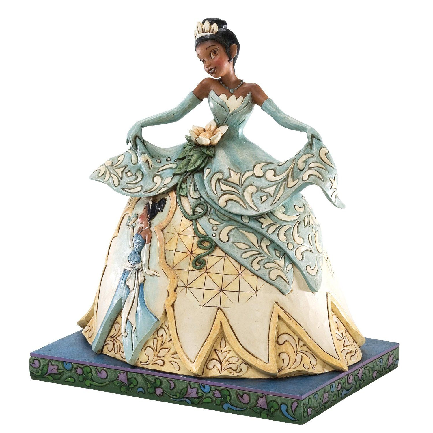 enesco disney traditions by jim shore princess tiana figurine 11 1 4 inch. Black Bedroom Furniture Sets. Home Design Ideas