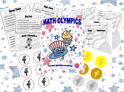 Classroom Magic: Math Olympics FREEBIE