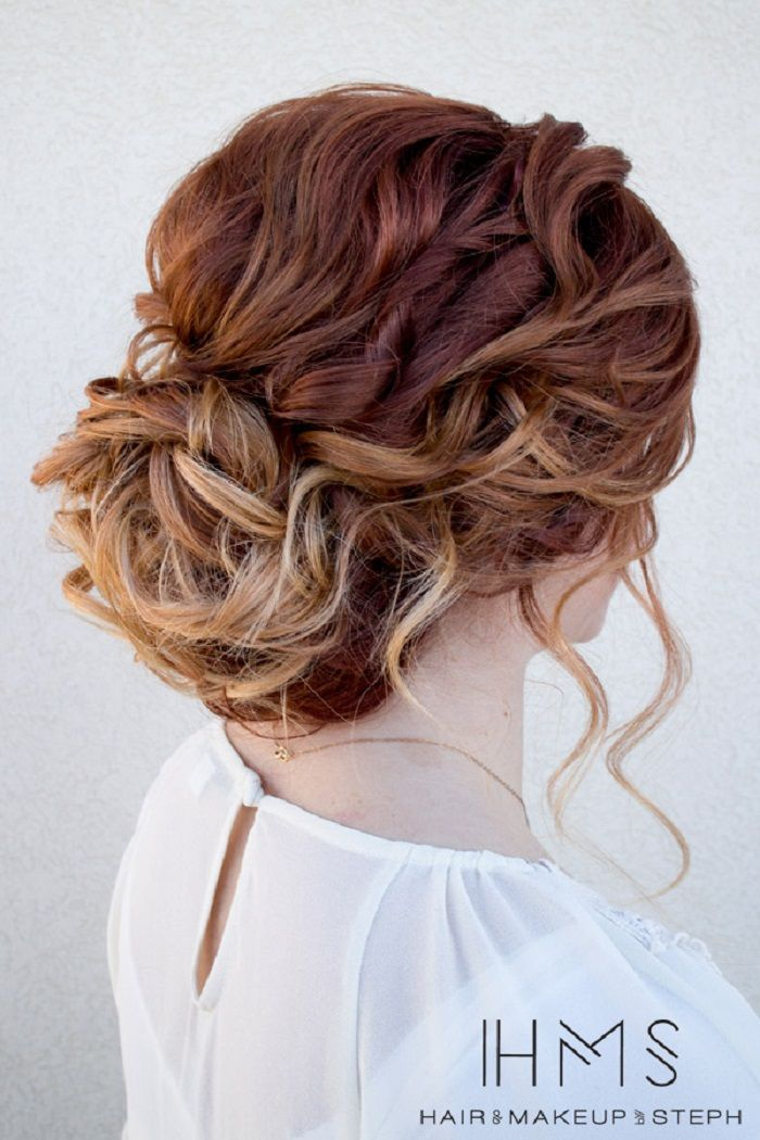 Beautiful And Creative Updo For Curly Hair With Images Long Hair Updo Hair Styles Boho Bridal Hair