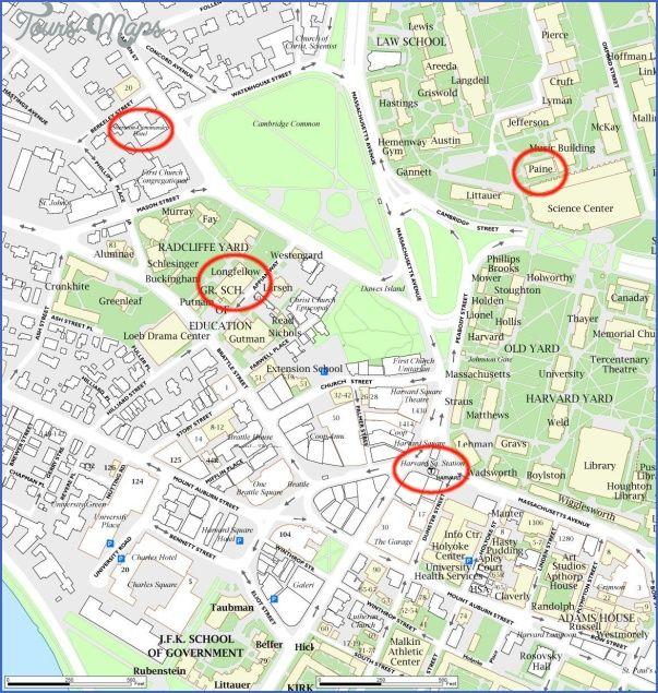 awesome Harvard University US Map & Phone & Address ...