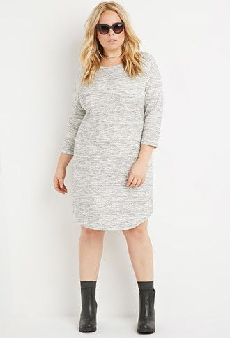 Sweatshirt dress women plus size