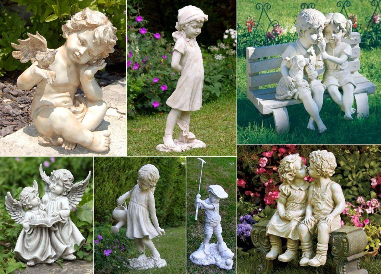 Para deixar seu jardim ainda mais lindo! #estatuas #decoração #jardim