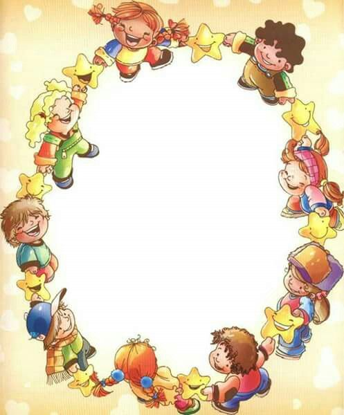 Marco Ninos Clip Art Borders Kids Background Boarders And Frames