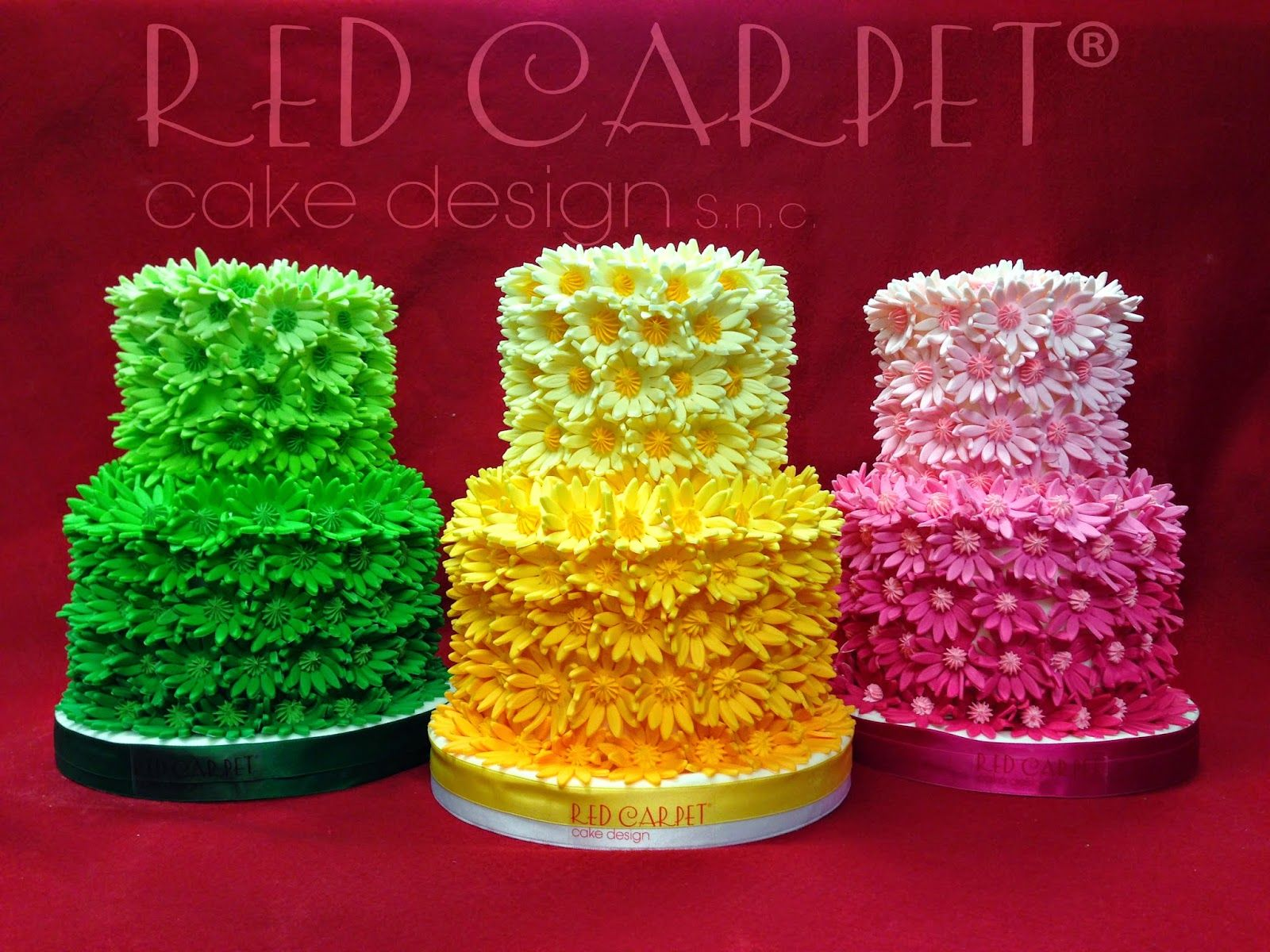 VANISHING COLOURS CAKES- by Red Carpet Cake Design®