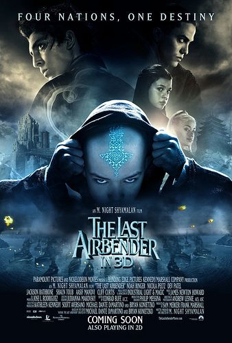 The Last Airbender Final Movie Poster The Last Airbender Movie Avatar Movie The Last Airbender