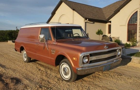 1970 Chevrolet C10 Panel Truck | Bring A Trailer | Panel ...