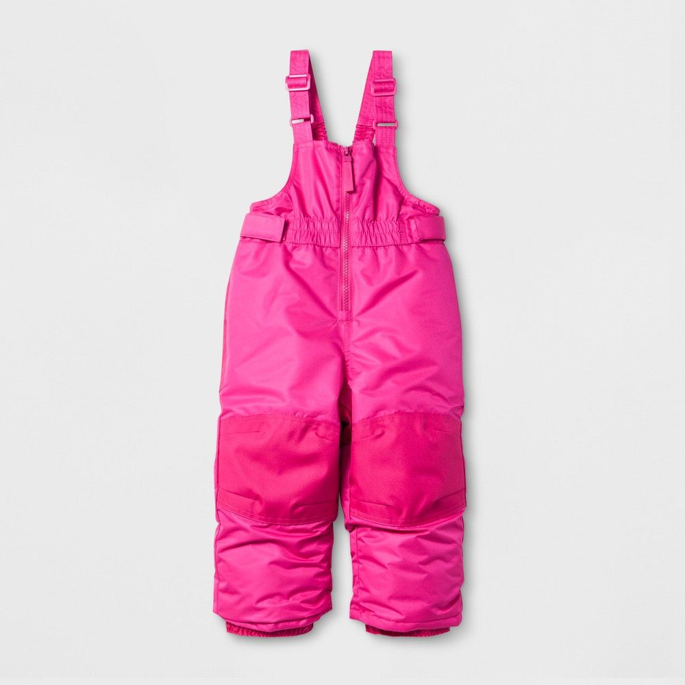 62791a8d11 Baby Girls' Snow Bib - Cat & Jack Pink 12M | Products | Snow pants ...