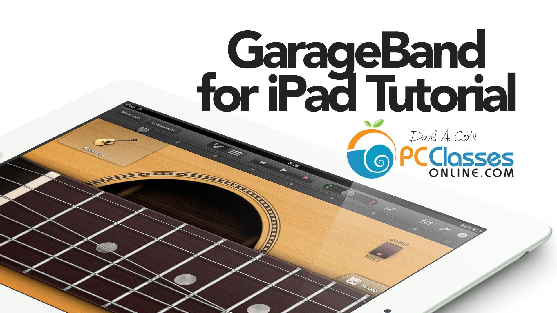 Garageband is one of our favorite apps for iPad. In this