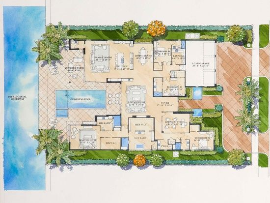 2201 Spanish River Road Google Search Spanish River House Plans