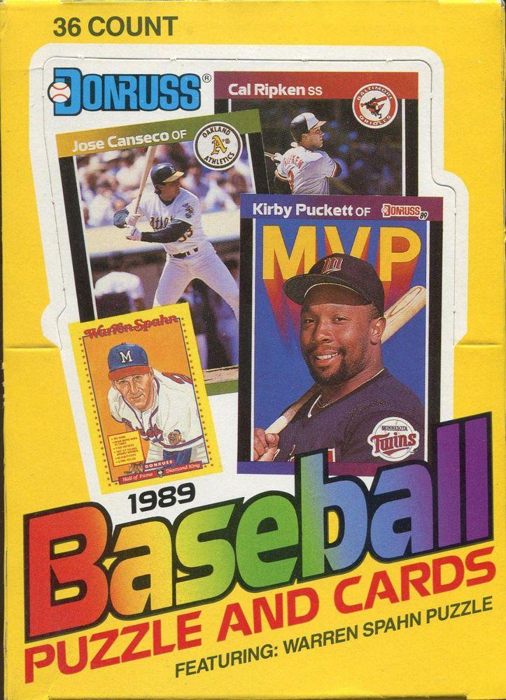1989 donruss baseball team set baseball cards pick from