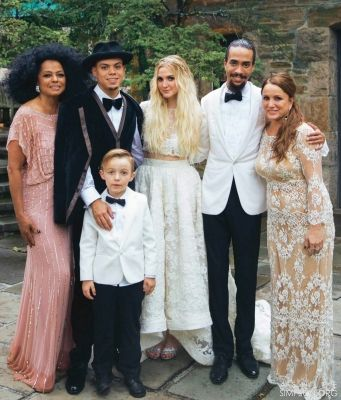 Ashlee Simpson and Evan Ross Wedding | We Are Celebrity ...