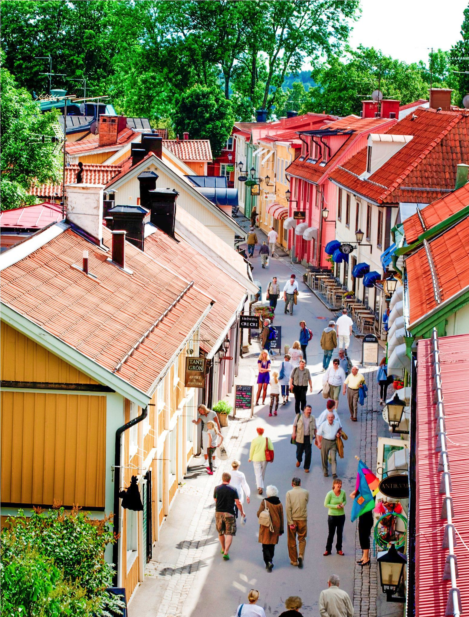 8 Picturesque And Best Towns In Sweden Sweden Travel Sweden Places To Visit Scandinavia Travel