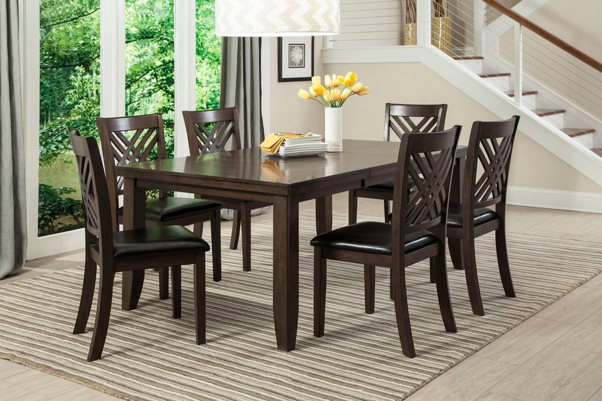 Lebaron Table 6 Side Chairs Classic Dining Room Dining Room