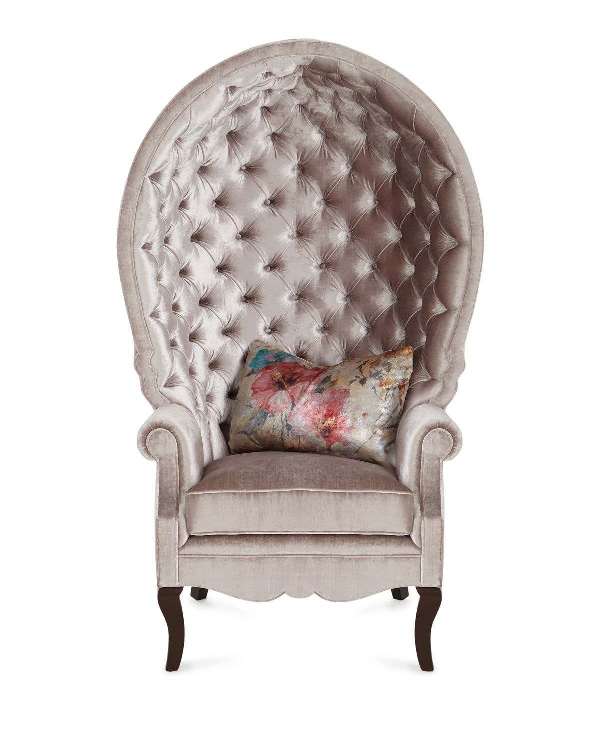 Haute House Papillion Tufted Chair Tufted chair, Leather