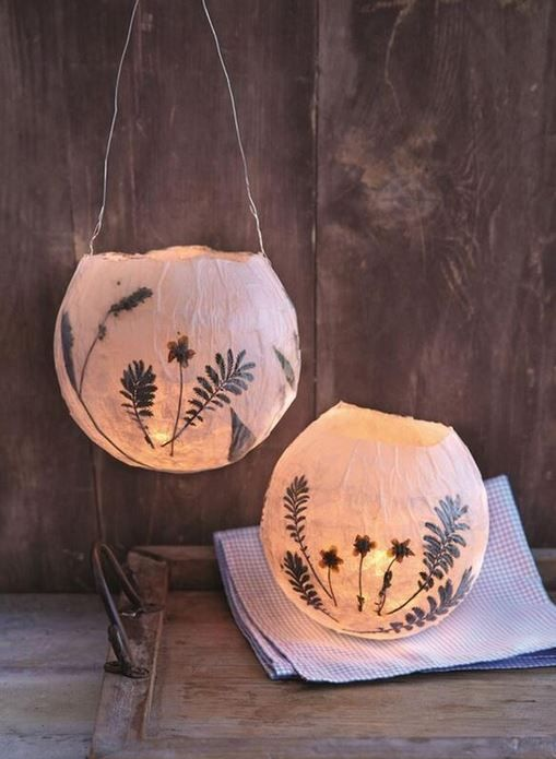 Clever Papermache Balloon Lampshades Diy Lamp