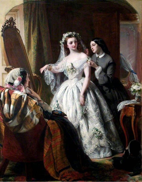 03dae02f457 Pintura  Cenas de um casamento – 4