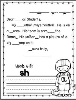 Kindergarten November Morning Messages | A+ KINDERGARTEN for