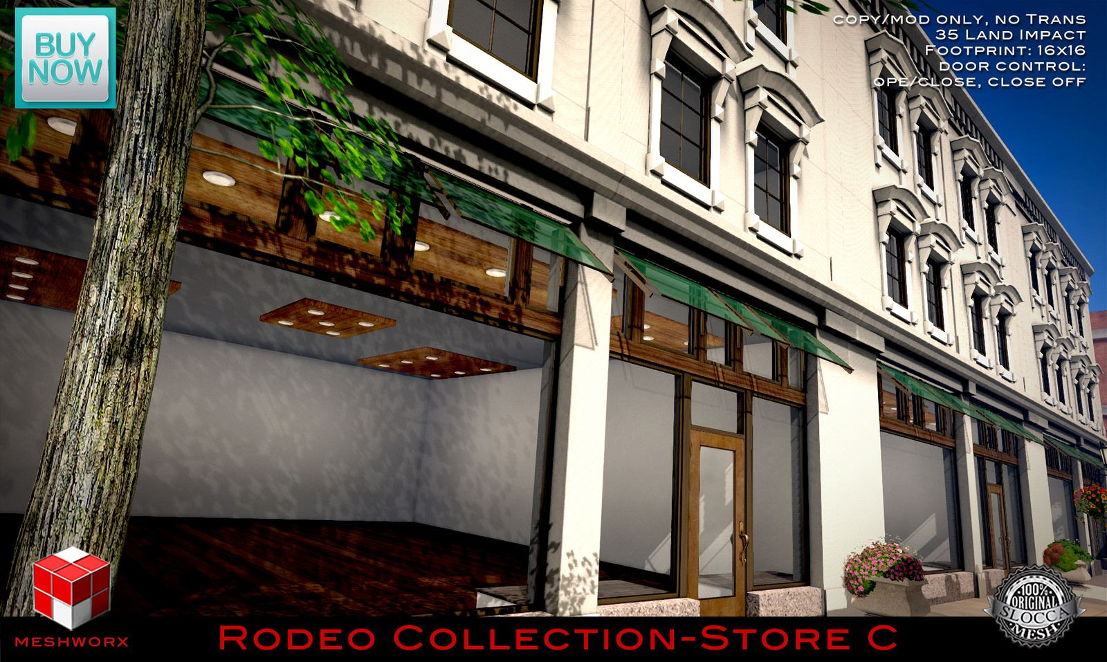 Second Life Store Meshworx Rodeo Collection Store C Meshworx Rodeo Collection