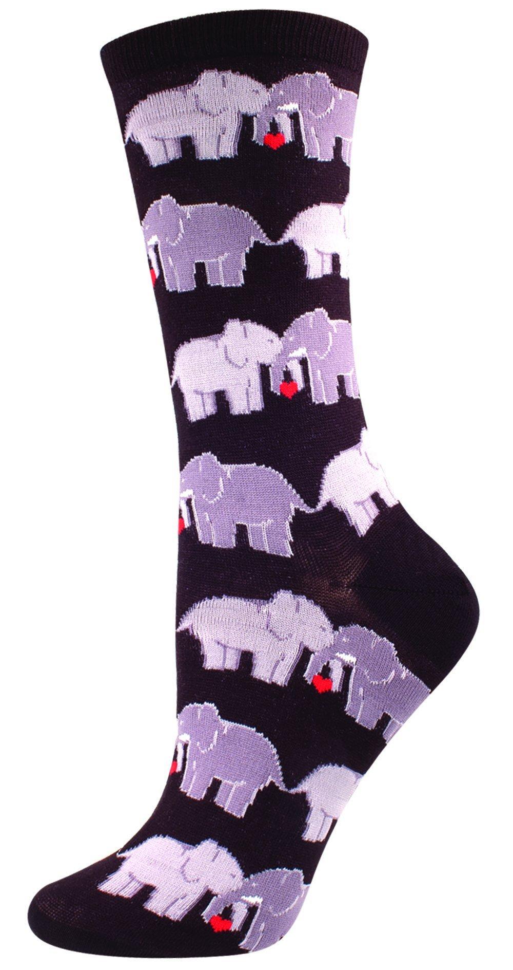 Women's Elephant Love Socks in 2019 | Elephant socks