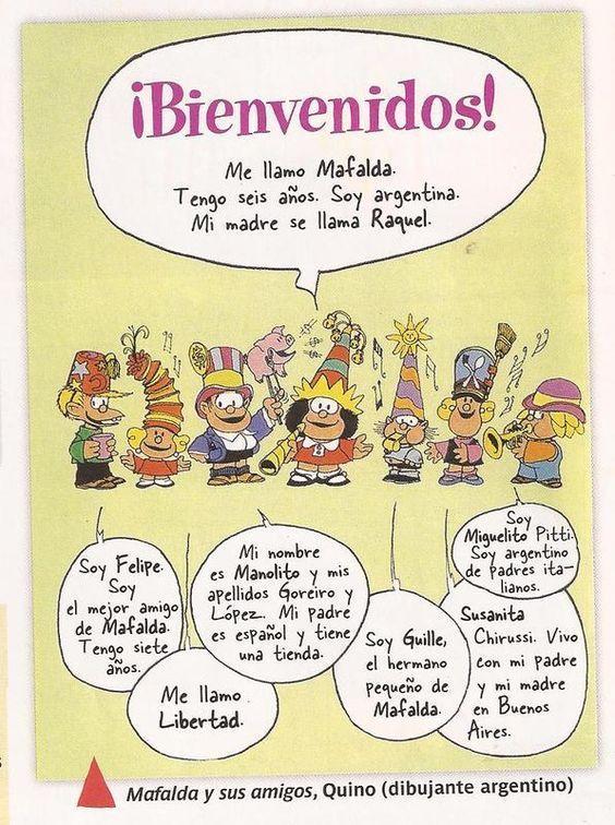 d03c84fa2829fcfc4b8c6b4752978ff2 la familia de mafalda spanish, teaching spanish and learn spanish