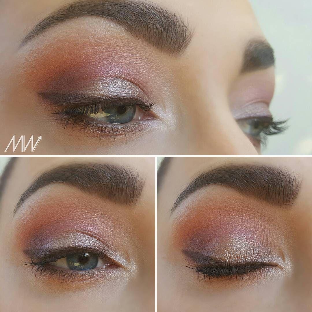 Maquillage du jour - Paupière mobile : Ombre hypnôse #lancome Taupe Erika - Creux de paupière : Dual-intensity #nars Suara - Paupière fixe : Eyeshadow Palette New-trals vs Neutrals #makeuprevolution #maquillagedujour #makeuplook
