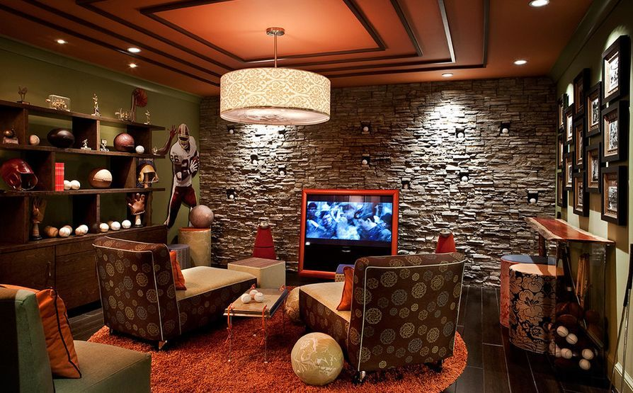 Awesome Man Cave Accessories : Man cave ideas and furniture projects caves