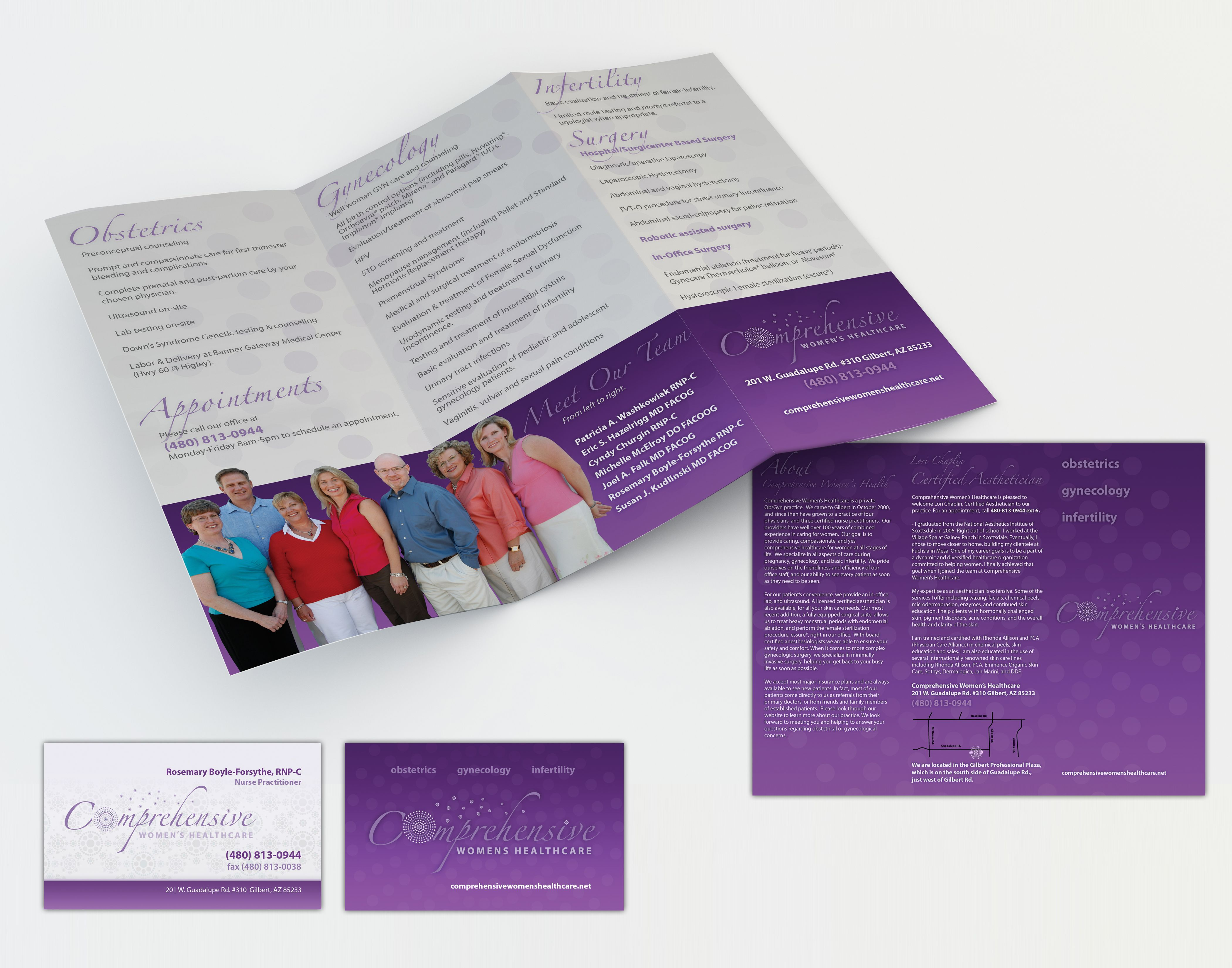 Comprehensive womens healthcare mobile app design