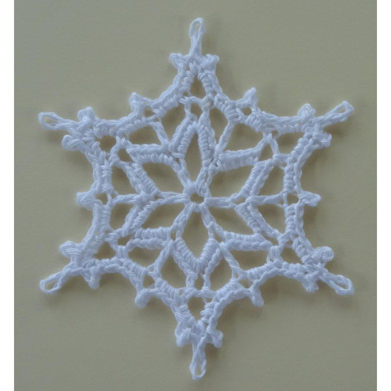 2016 Snowflake Crochet Pattern By Agrarian Artisan In 2020 Crochet Snowflake Pattern Christmas Crochet Patterns Crochet Snowflakes