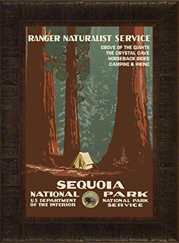 Sequoia Travel Poster 23.5x17.5 National Park California ... https://www.amazon.com/dp/B01HQJ7T1A/ref=cm_sw_r_pi_dp_D4LGxb7M7A0AN