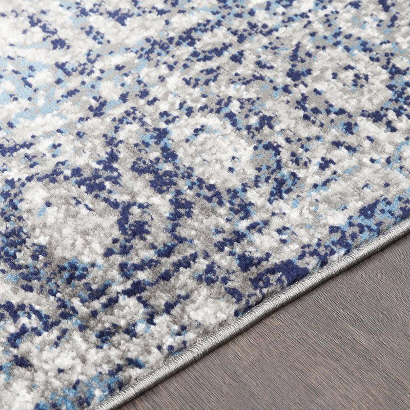 Ranck Distressed Navy Baby Blue Area Rug Navy Blue And Grey Living Room Blue Grey Rug Rugs